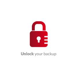 Unlock your backup